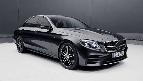 Mercedes-AMG E 53 mild hybrid sedan shown internationally