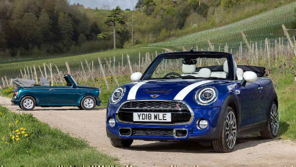 Mini celebrates 25 years of its convertible cars with a UK-only special edition