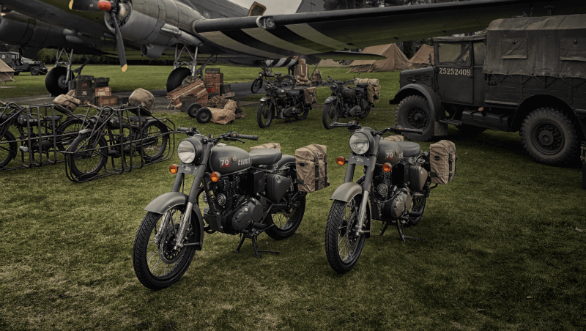 Royal Enfield Classic 500 Pegasus edition unveiled, limited to 1000 units worldwide