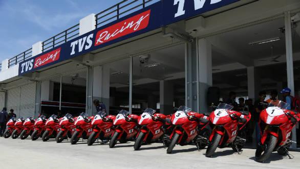 TVS Racing announces participants for TVS Apache RR310 one-make series