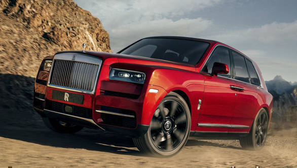 Image gallery: India-bound Rolls Royce Cullinan SUV