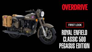 First Look | Royal Enfield Classic 500 Pegasus edition