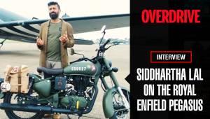 Siddhartha Lal on the Royal Enfield Pegasus Classic 500 - Video