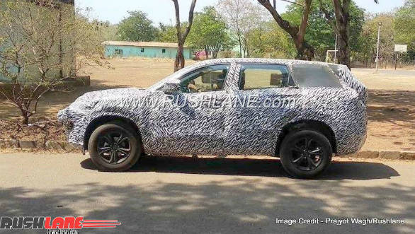 Upcoming Tata H5X SUV spotted testing again in new video