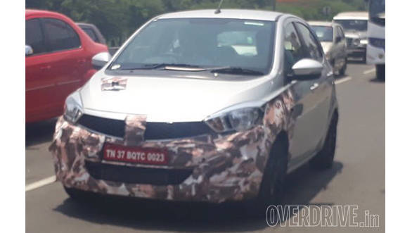 Exclusive: Tata Tiago JTP spotted testing in India