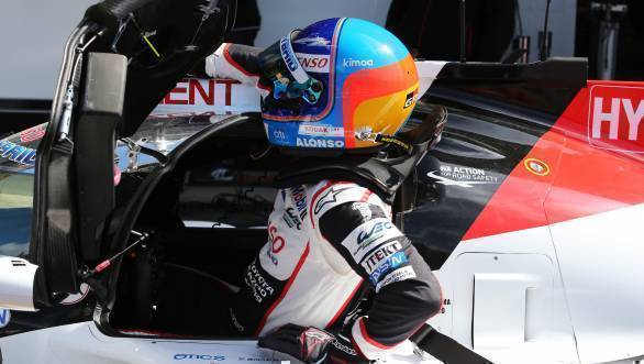 WEC: Fernando Alonso tops FP1 at Spa-Francorchamps