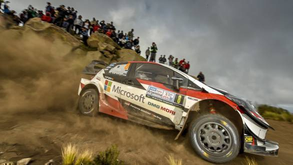 WRC 2018: Ott Tanak takes first victory for Toyota at Rally Argentina