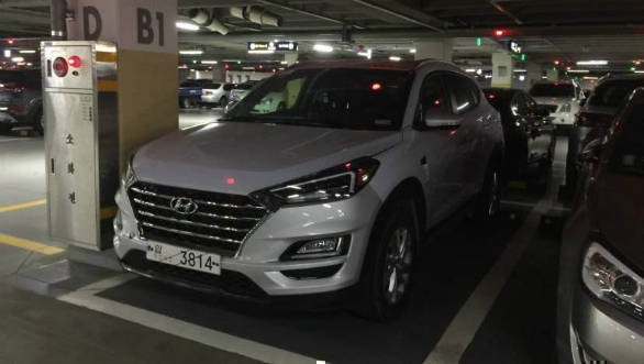 2019 Hyundai Tucson facelift spotted undisguised in South Korea
