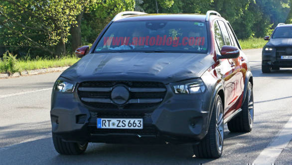 New Mercedes-Benz GLE-Class spotted testing