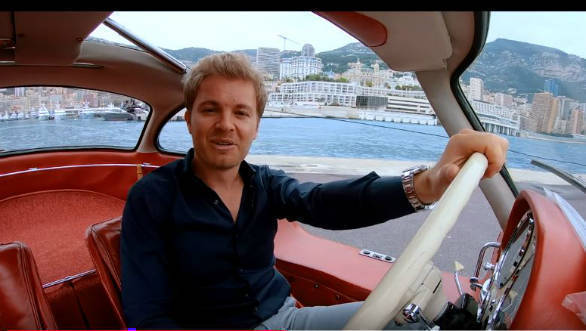 Video Worth Watching: Nico Rosberg and his Mercedes-Benz 300SL Gullwing