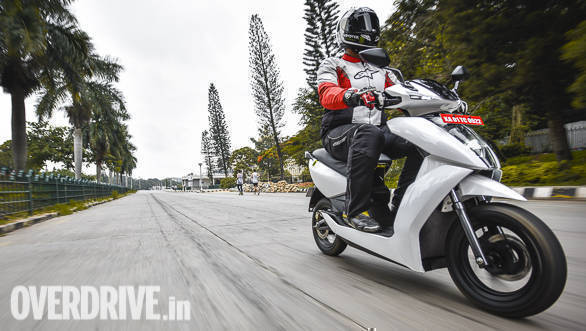 2018 Ather 450 first ride review