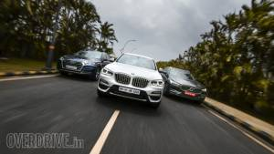 Comparison Test: 2018 BMW X3 vs Audi Q5 vs Volvo XC60
