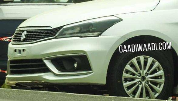 2018 Maruti Suzuki Ciaz facelift: More spied images