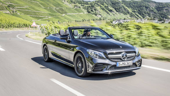 mercedes amg c 43 4matic cabriolet first drive review. Black Bedroom Furniture Sets. Home Design Ideas