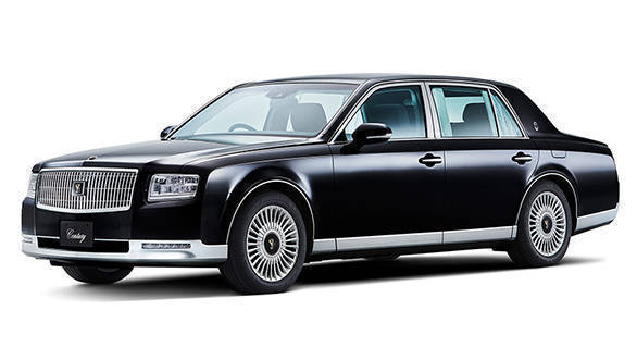 New-gen Toyota Century flagship sedan details revealed