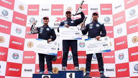 VW Ameo Cup 2018: Incident-packed race sees Dhruv Mohite continue good run