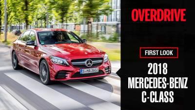 2018 Mercedes-Benz C-Class (facelift) | First Look