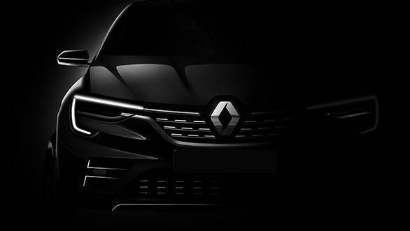 Renault crossover concept teased, to be based on the Captur