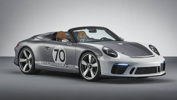 Porsche celebrates its 70th anniversary with the 911 Speedster concept