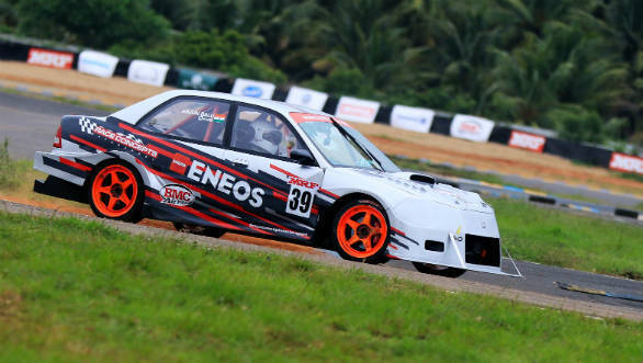 Indian National Racing Championship 2018: Round 2 free practice sees Arjun Balu make a successful return