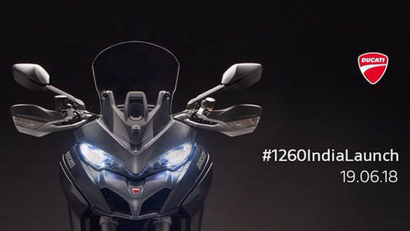 2018 Ducati Multistrada 1260 and 1260 S to launch in India on June 19