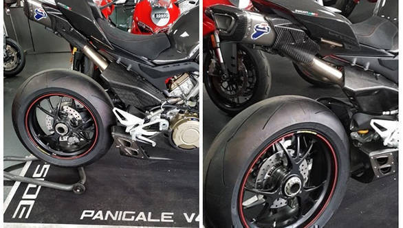 Spotted Ducati Panigale V4 With Carbon Fibre Body Overdrive