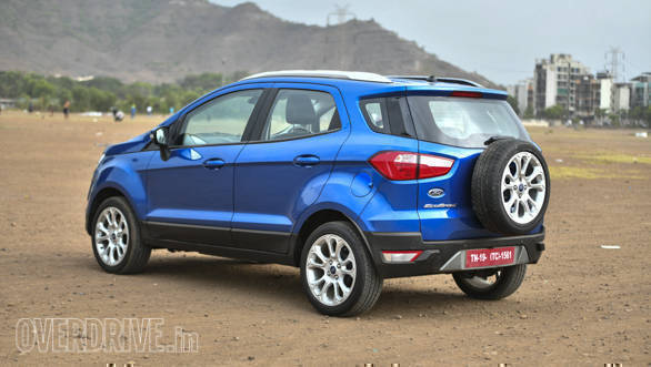 2018 ford ecosport petrol automatic road test review. Black Bedroom Furniture Sets. Home Design Ideas