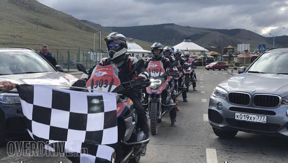 BMW International GS Trophy 2018 Day 4: Deep in a Mongolian desert