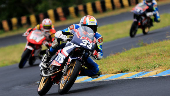 2018 INMRC: KY Ahamed dominates Super Sport Indian class at Round 1 at the Kari Motor Speedway
