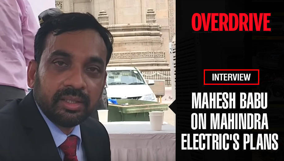 Mahesh Babu on Mahindra Electric's plans for EV infrastructure, Formula E and future products