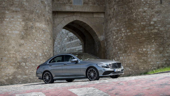 Image gallery: 2018 Mercedes-Benz C200 petrol facelift breaks cover