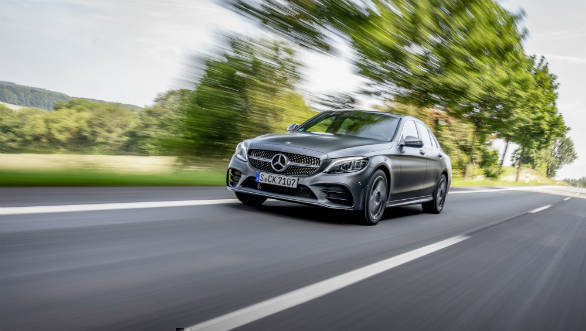 Live updates: 2018 Mercedes-Benz C-Class facelift India launch
