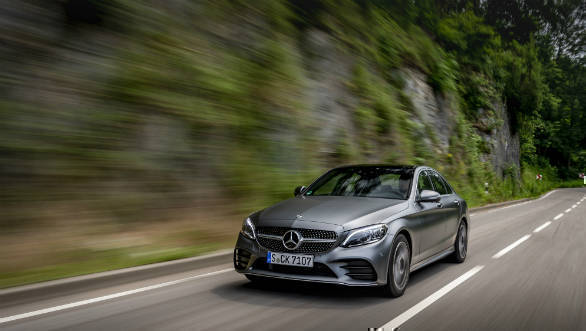 Image gallery: Facelifted 2018 Mercedes-Benz C-Class gets an updated C 220d diesel variant