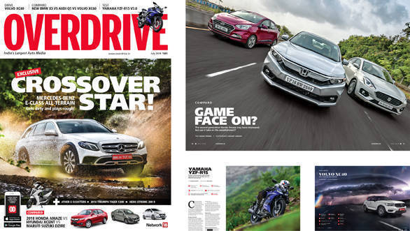 Get the July 2018 issue of OVERDRIVE now!