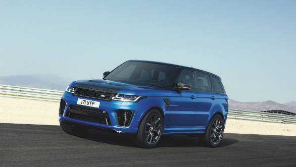 Jaguar Land Rover begins bookings in India for Range Rover Sport SVR and Range Rover SVAutobiography