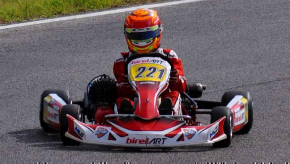 2018 Easykart Italia championship: Ruhaan Alva secures podium position in the fifth round
