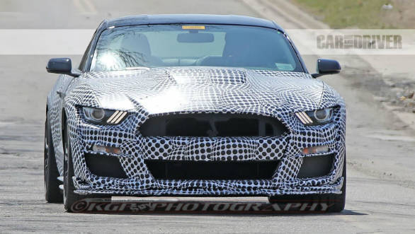 2020 Ford Mustang Shelby GT500 spotted testing