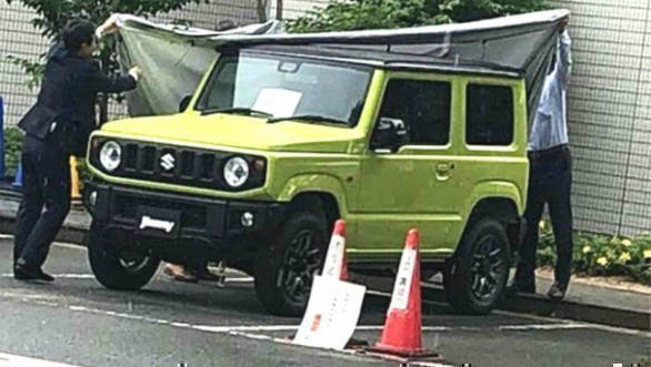 Fourth-generation Suzuki Jimny mini-SUV to be unveiled in Japan on July 5