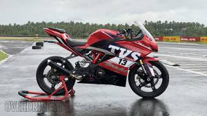 Race-spec TVS Apache RR 310 first ride review