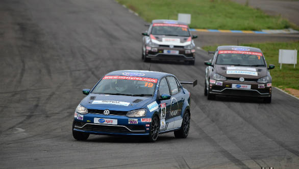 2018 VW Ameo Cup: Dhruv Mohite wins Race 1 at season-opener at Kari Motor Speedway
