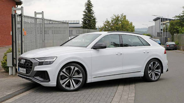 Spied: 2019 Audi S Q8 spotted testing near the Nurburgring in Germany