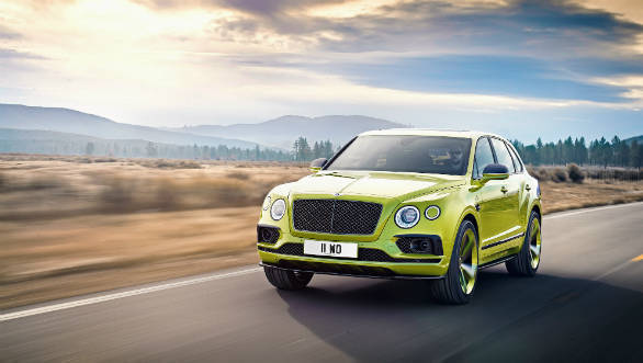 Bentley Bentayga Pikes Peak limited edition unveiled before its 10-unit worldwide production run