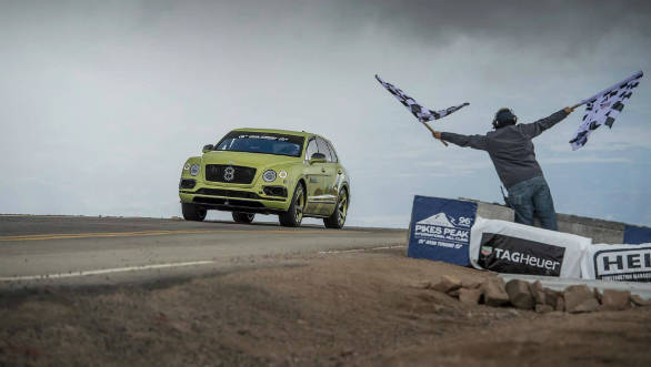 Bentley Bentayga breaks Pikes Peak SUV hillclimb record