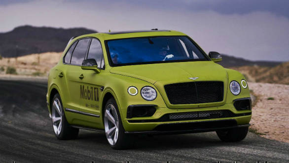 Bentley to attempt new Pikes Peak record with Bentayga SUV