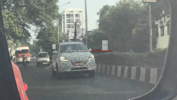 Hyundai Creta rivaling MG RX5 SUV spotted testing in India