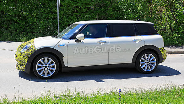 Mini Clubman Facelift Spied Testing In Germany Overdrive