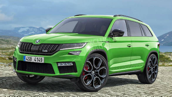 Skoda Kodiaq RS could debut in Europe by October