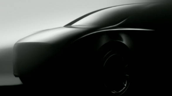 Tesla teases the upcoming Model Y crossover