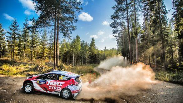 WRC 2018: Gaurav Gill overcomes technical issues to gain valuable experience at Rally Finland