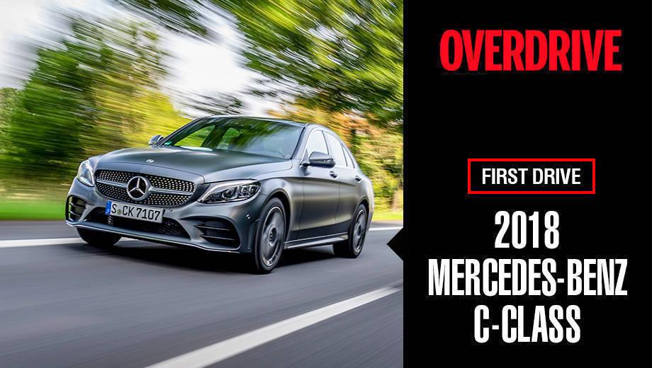 2018 Mercedes-Benz C-Class | First Drive Video Review
